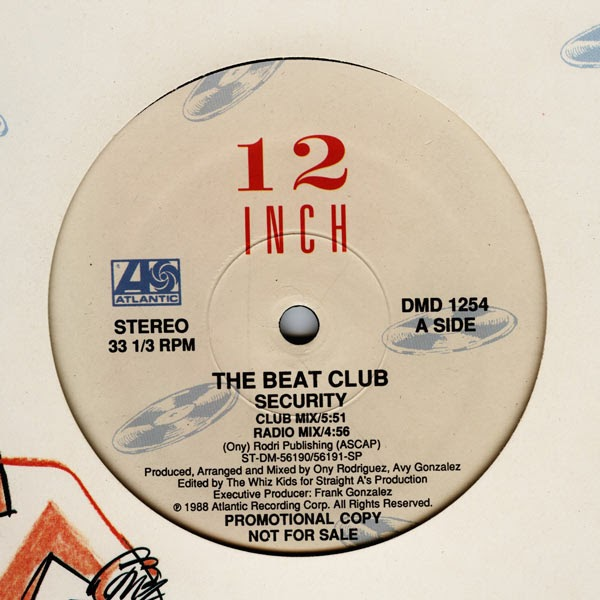 classic house music the beat club security atlantic 1988
