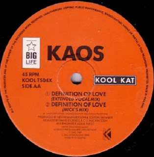 Classic house music kaos definition of love kool kat 1989 for What is the definition of house music