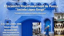 """I Encuentro Hispano-Marroquí de Poesía """"Jacinto López Gorgé"""""""