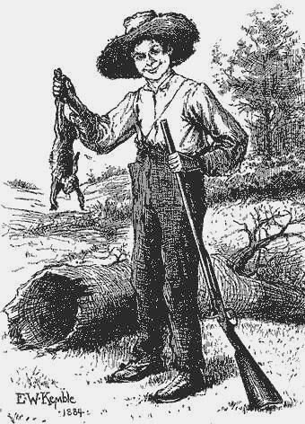 I'm doing a term paper regarding the satire of the Grangerfords/Shepherdsons feud in Huck Finn. HELP?