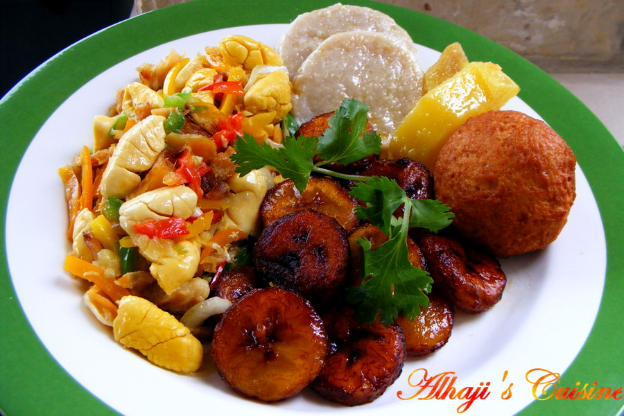 Food and lens ackee and saltfish jamaican dish for Authentic jamaican cuisine