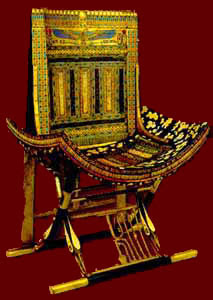 Tutankhamun Throne