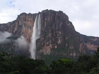 Angel Falls one of the Seven Forgotten Natural Wonders of the World