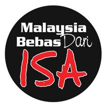 ~Bebaskan Malaysia Dari ISA~