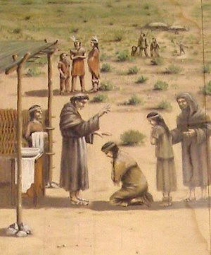 a history of christian missionaries in exploration The ideal of the missionaries themselves, supported by royal decrees, was to  establish autonomous christian towns with communal property,.