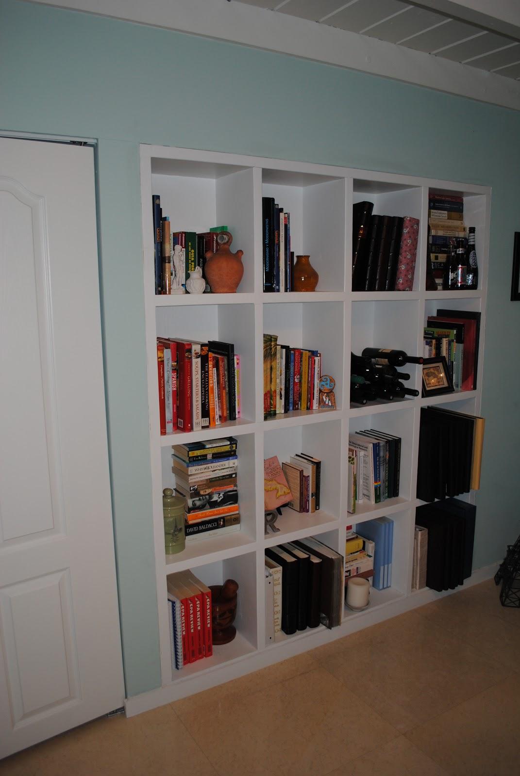 jandjhome: Built in Bookshelves