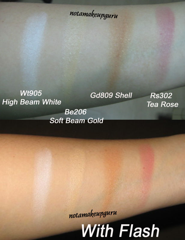 the blushers color description according to sephora - Shiseido Luminizing Satin Face Color