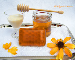 Honeycomb inside is all soap! Click on picture to view