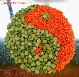 Yin and Yang of legumes: Click on picture for two different soups in a pumpkin