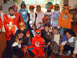 o carnaval...no 2º ano