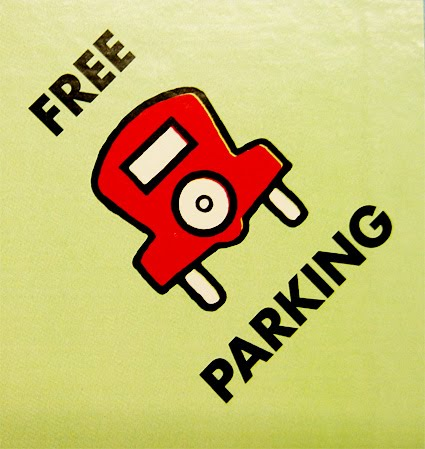 Metered spaces are free after 9 p.m. Monday through Saturday and on Sundays ...