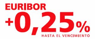 Banco Santander Hipoteca Euribor +0,25