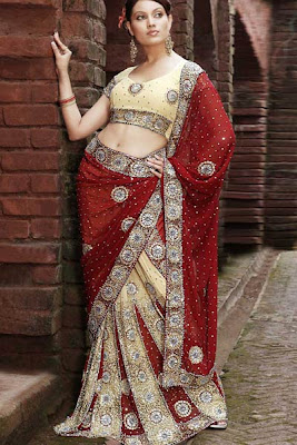 Lehenga Choli Desgins 2012, Bridal Lehenga choli for Indian Women