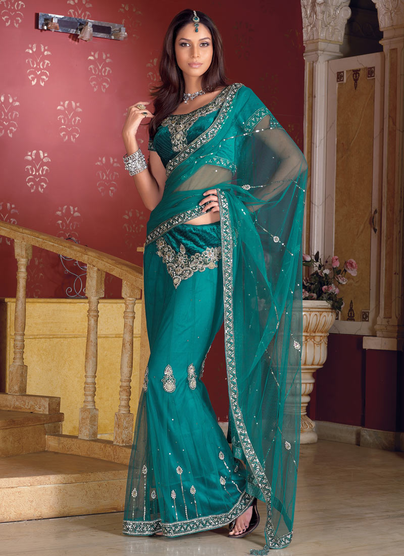Fashion India Latest Lehenga Saree
