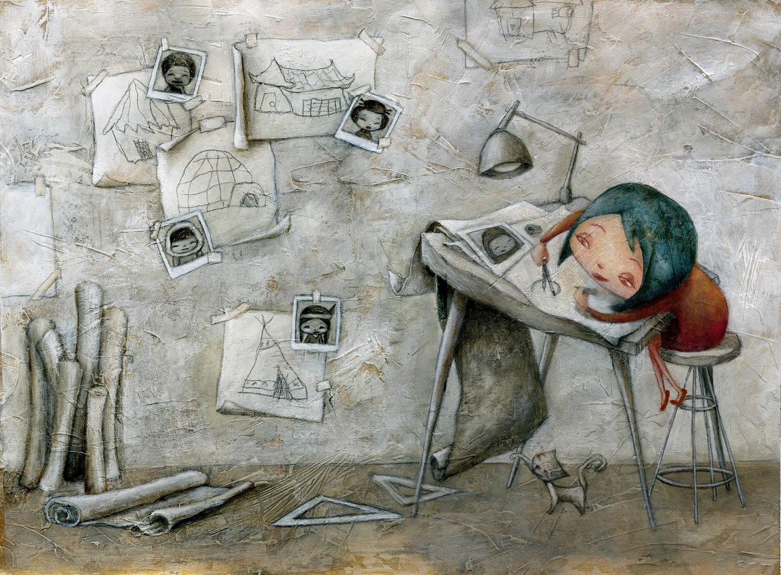 Marilina ricciardi illustratrice for Case da architetto