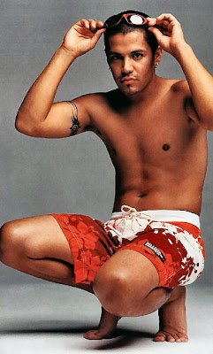 Jay Hernandez has a single visible tattoo which we have spotted,