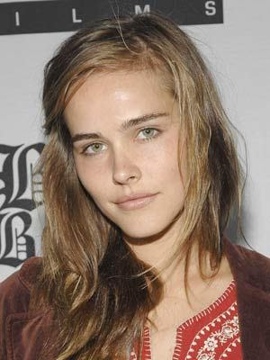 Isabel Lucas Light Brunette Hairstyle