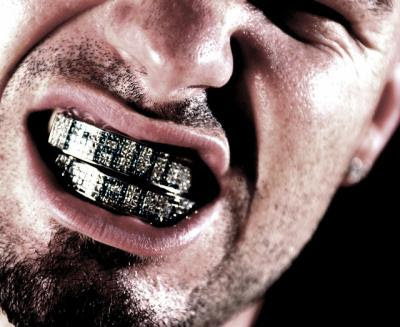 grillz for teeth. Teeth Grills (Gold Grillz)
