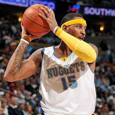 carmelo anthony fotos. carmelo anthony tattoos 2011.