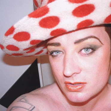 Boy George Shoulder Tattoos