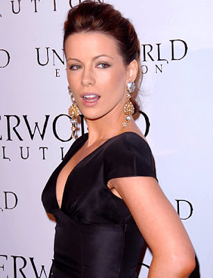 kate beckinsale hair updo