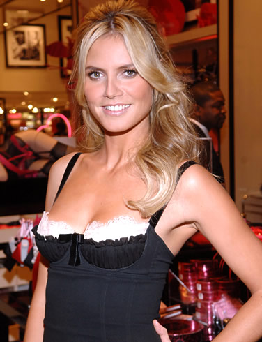 heidi klum hair color. heidi klum haircut