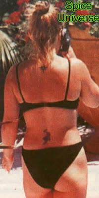 Sexy Geri Halliwell Tattoos