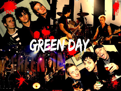 Green Wall Paper on Ahhhhhhhh Green Chemical Romance Badd Green Day Wallpaper