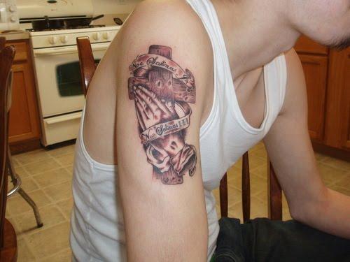 трубку крест тату на икре этом случае