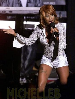 Mary J Blige Tattoos - Mary J. Blige - Zimbio