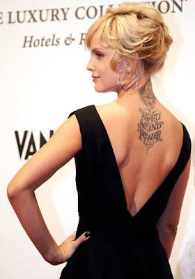 Mena Suvari Tattoos