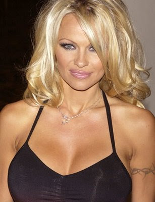 Pamela Anderson Tattoo - Celebrity Tattoo Pictures