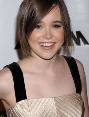 Teeth Celebrity: Ellen Page Stained Teeth  Ellen Page