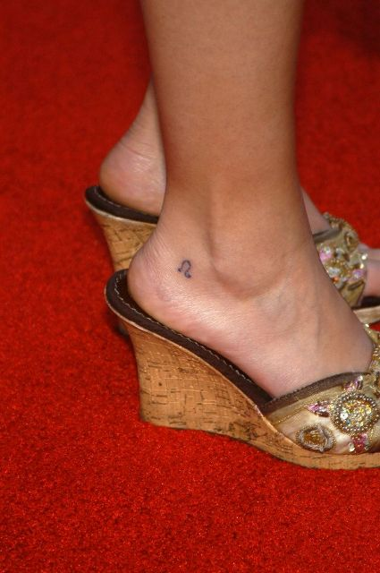 rosary ankle tattoos. Ankle Taq : Female Tattoos,