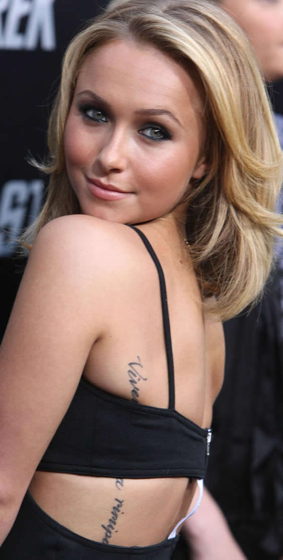 of the zodiac sign of Leo. Checkout these photos of her tattoos below.