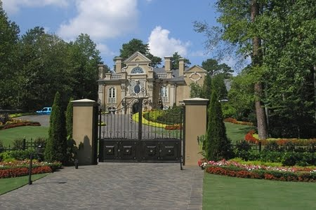 Kenny Rogers Mansion In Atlanta Georgia Celebrity Houses