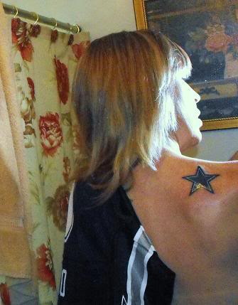Trend tattoos dallas cowboys tattoos for Dallas cowboys star tattoo