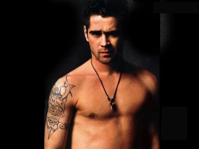 Tattoo Ideas Gallery, Celebrity Tattoos, Girls Guy: Colin Farrell Tattoos