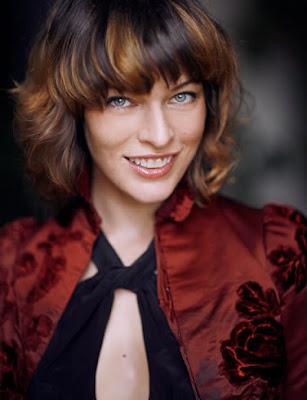 My Love Performance Milla Jovovich Short Hairstyles