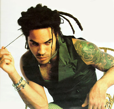 Lenny Kravitz Left Hand Tattoos