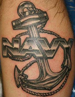 Navy Anchor Tattoos
