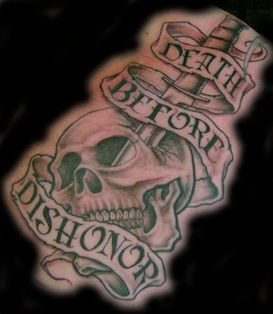 Dagger Tattoos on Explagalleries  Skull And Dagger Tattoos