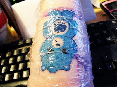 Fresh Care Bear tattoo artwork. Newer Post Older Post Home