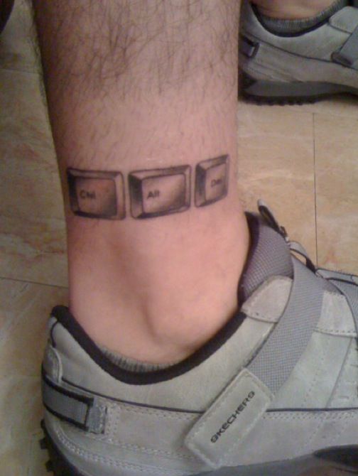 Dews views ankle tattoo ideas for men for Ankle tattoos for guys