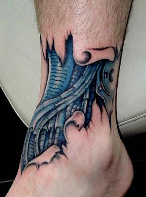 Leg Tattoos Designs for Girls