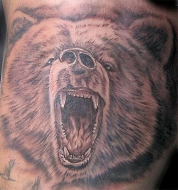 Bear Tattoo Designs For Men Bear Tattoo Designs On Arm Men