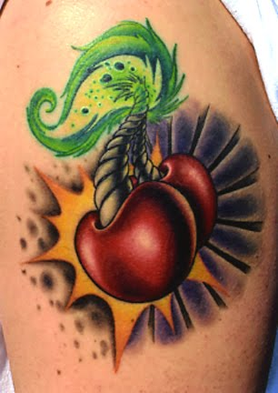 Picture Gallery And Find A Cool Cherry Tattoo That Fits Your Style