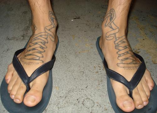 tattoos on foot ideas. Foot Tattoos For Men