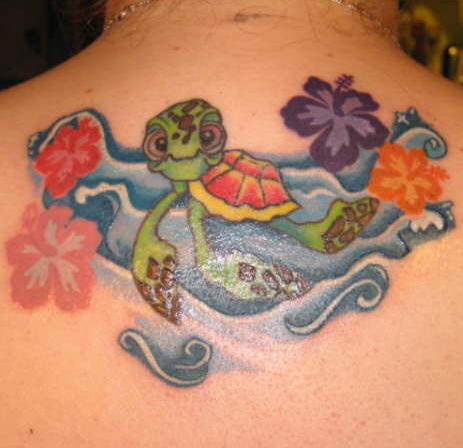 turtle tattoo 8 hawaiian