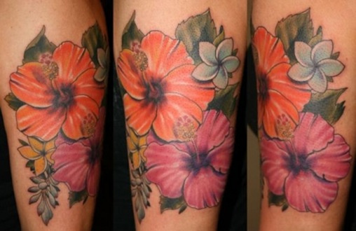 pretty flower tattoos. Flower Tattoos